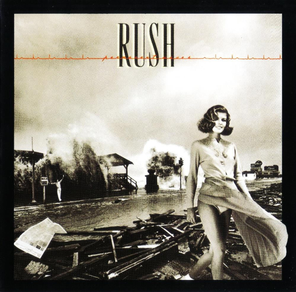 Rush - Permanent Waves CD (album) cover