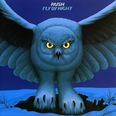 Fly By Night by RUSH album cover