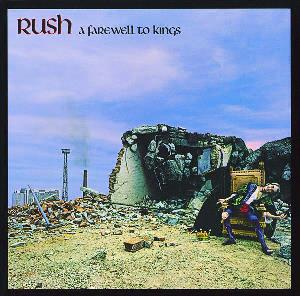 Rush - A Farewell To Kings CD (album) cover