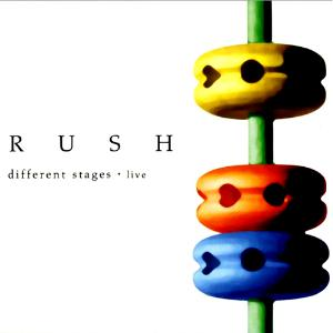 Rush - Different Stages - Live CD (album) cover