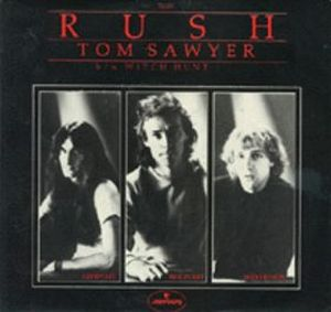 Rush - Tom Sawyer CD (album) cover