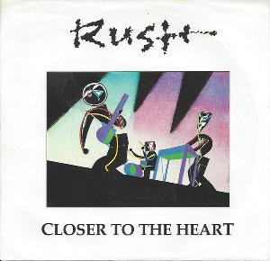 Rush Closer To The Heart album cover