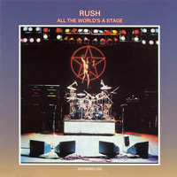 Rush All The Worlds A Stage album cover