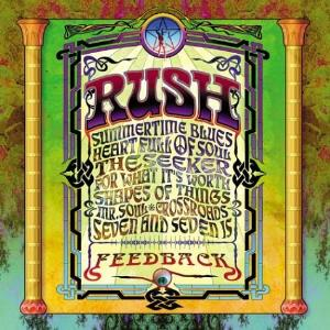 Feedback by RUSH album cover
