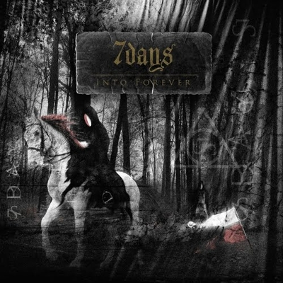 7days - Into Forever CD (album) cover