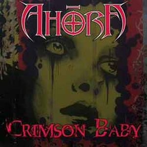 Ahoora Crimson Baby album cover