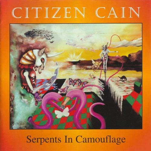 Serpents In Camouflage by CITIZEN CAIN album cover