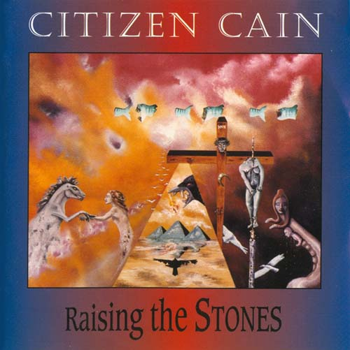 Raising The Stones by CITIZEN CAIN album cover