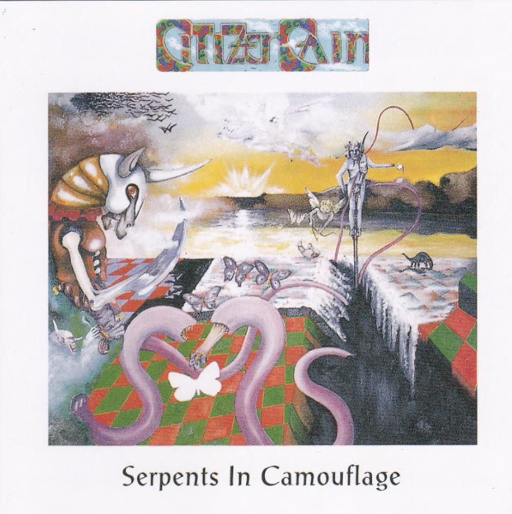 Citizen Cain - Serpents In Camouflage CD (album) cover