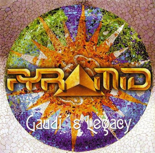 Pyramid - Gaudi's Legacy CD (album) cover