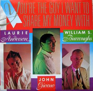 You're The Guy I Want To Share My Money With by ANDERSON, LAURIE album cover