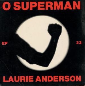 Laurie Anderson O Superman album cover