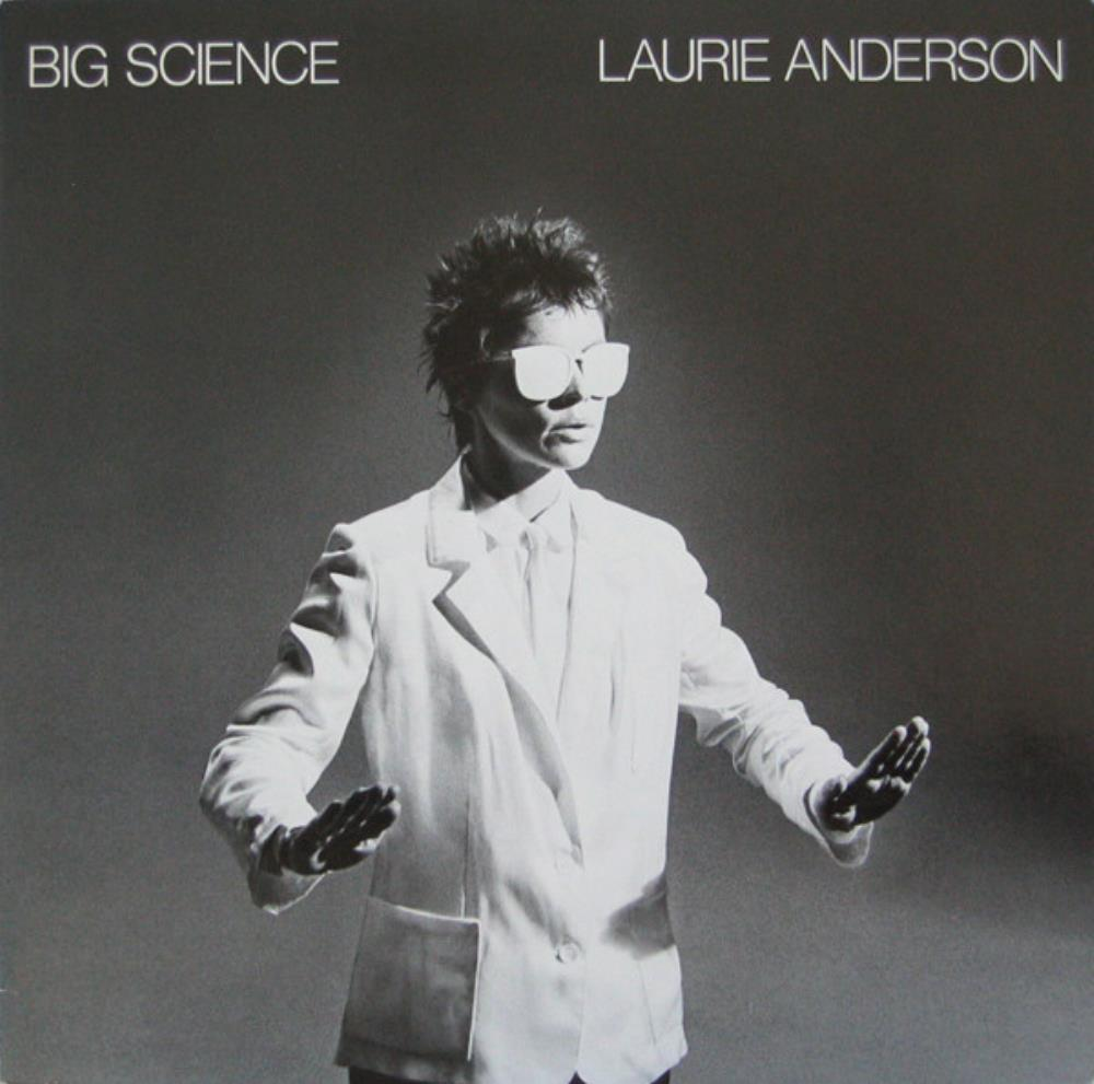 Laurie Anderson Big Science album cover