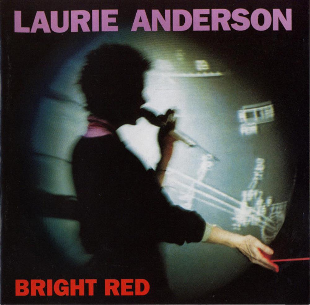 Bright Red by ANDERSON, LAURIE album cover