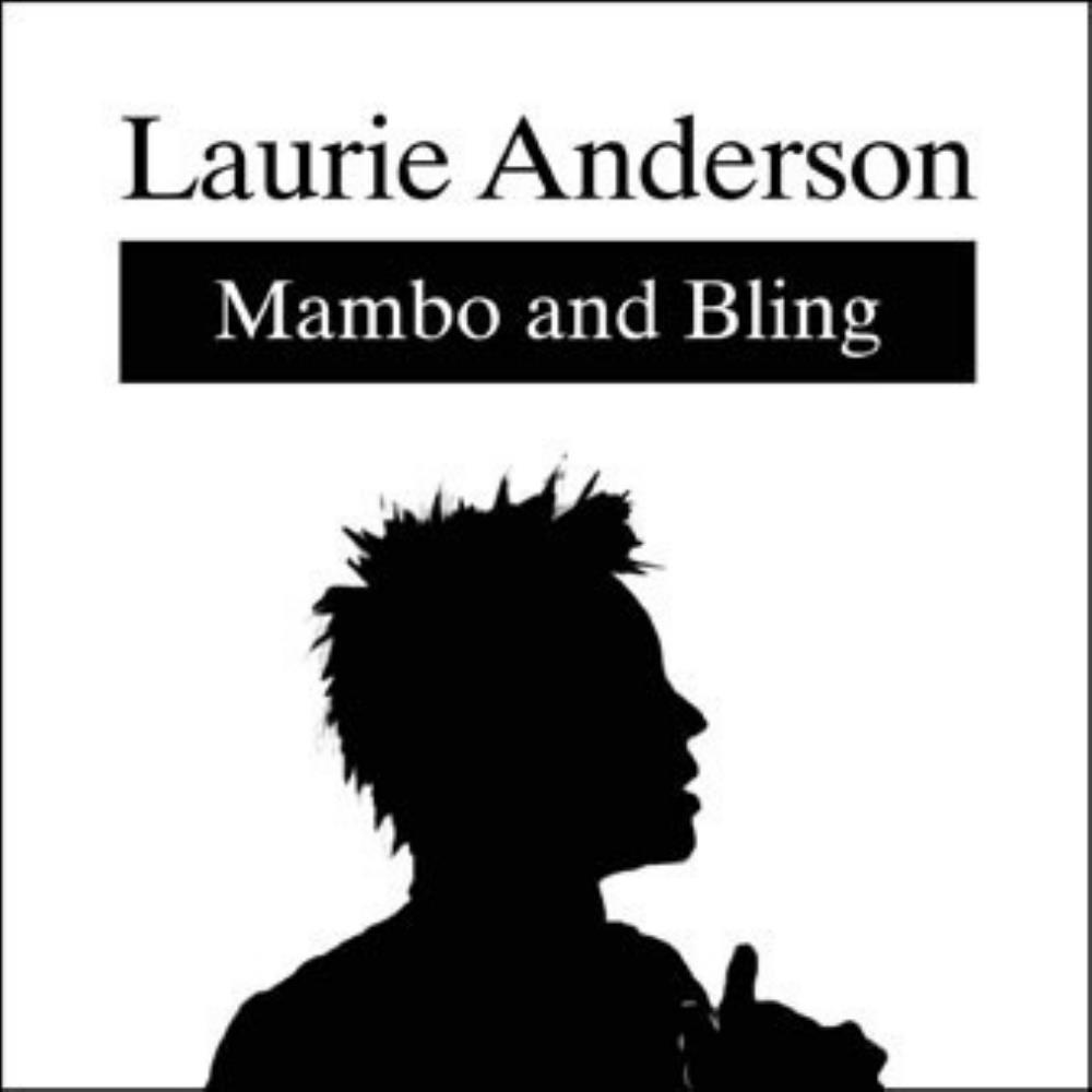 Laurie Anderson Mambo and Bling album cover