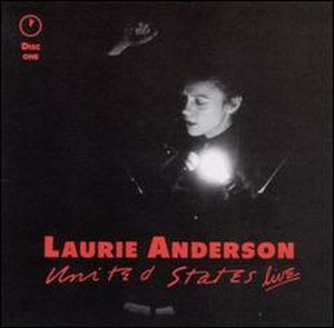 United States Live by ANDERSON, LAURIE album cover