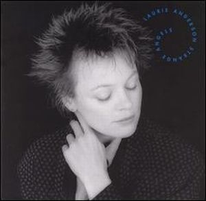 Laurie Anderson Strange Angels album cover