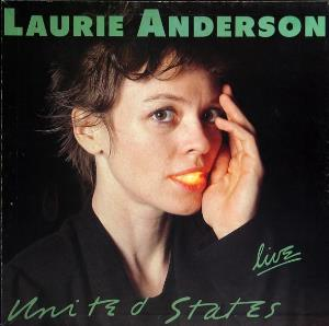 Laurie Anderson - United States Live CD (album) cover