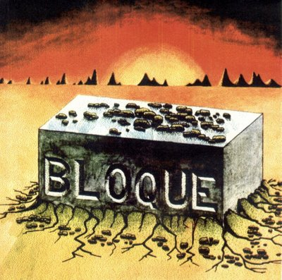 Bloque - Bloque  CD (album) cover