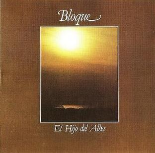 Bloque - El Hijo del Alba  CD (album) cover