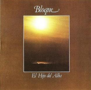El Hijo del Alba  by BLOQUE album cover