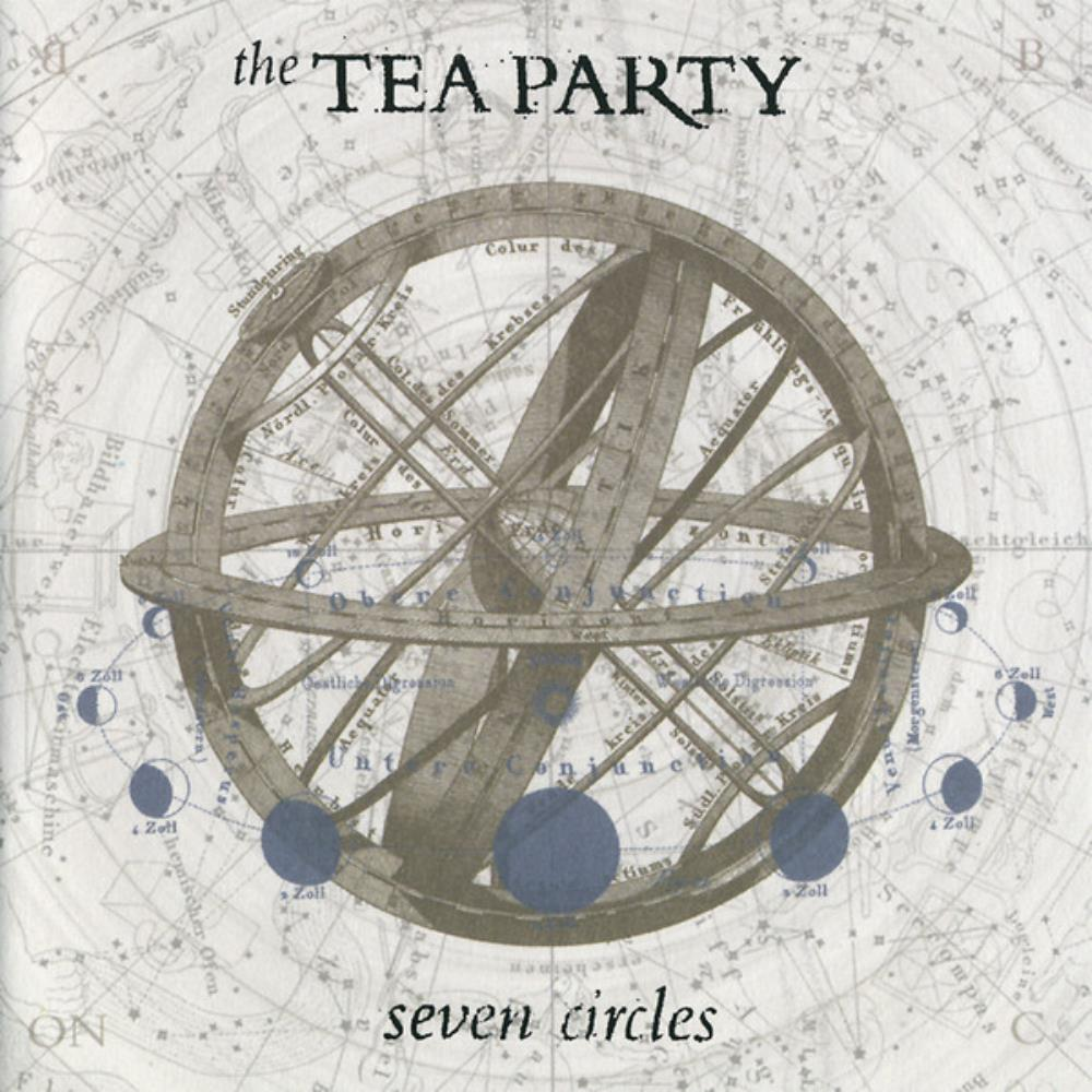 The Tea Party - Seven Circles CD (album) cover