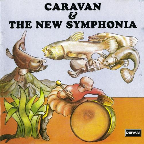 Caravan - Caravan & The New Symphonia  CD (album) cover