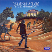 Caravan Live At Fairfield Halls - 1974 album cover