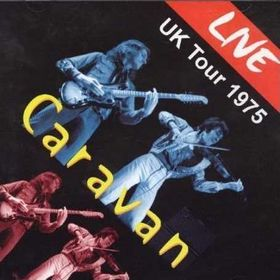 Caravan Live UK Tour 1975 album cover