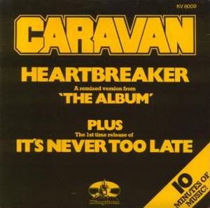 Caravan Heartbreaker album cover