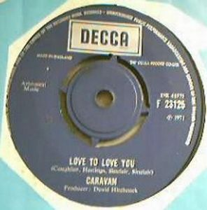 Caravan Love to Love You album cover