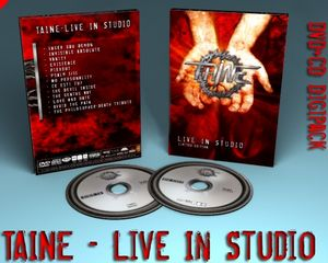 Taine Live In Studio album cover
