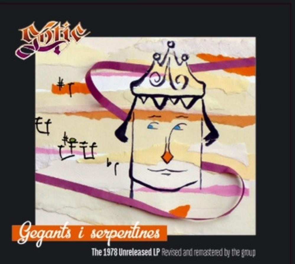 Gòtic - Gegants I Serpentines CD (album) cover