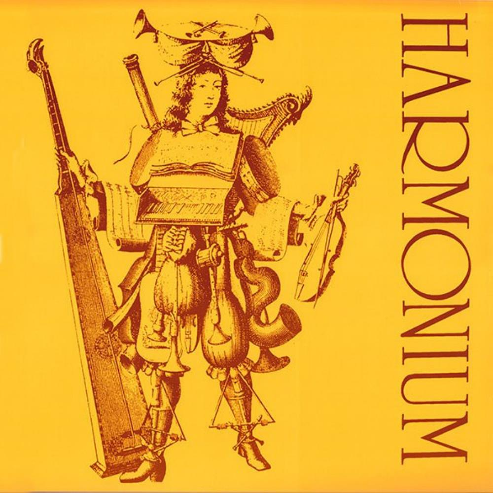 Harmonium - Harmonium CD (album) cover