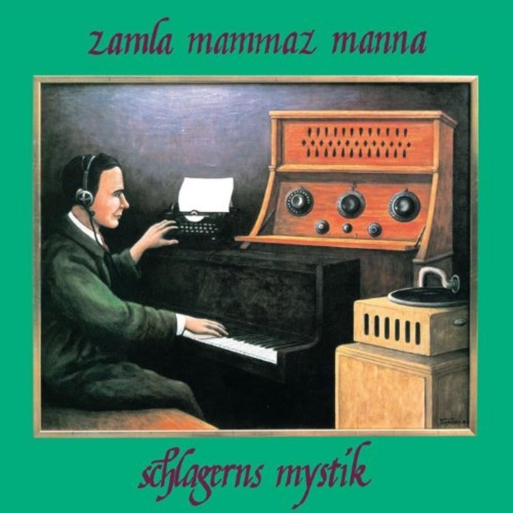 Schlagerns Mystik by ZAMLA MAMMAZ MANNA album cover