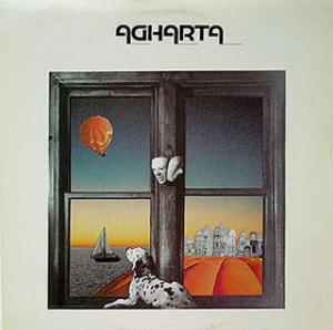 Agharta - Agharta CD (album) cover