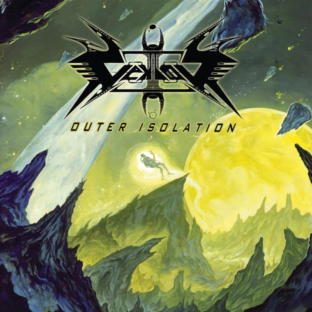 Vektor - Outer Isolation CD (album) cover