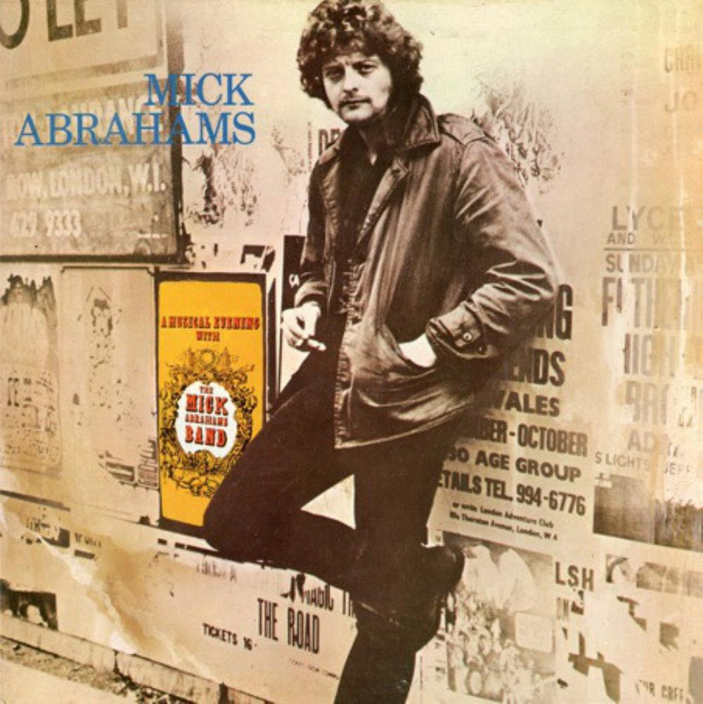 Mick Abrahams: A Musical Evening With The Mick Abrahams Band by BLODWYN PIG album cover