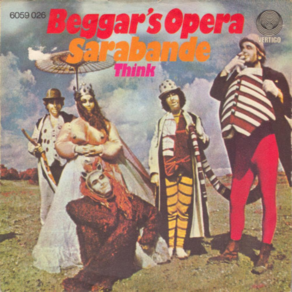 Beggars Opera - Sarabande / Think CD (album) cover