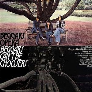 Beggars Opera - Beggars Can't Be Choosers CD (album) cover