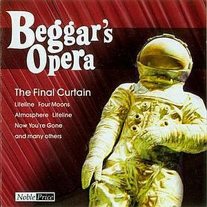 Beggars Opera - The Final Curtain CD (album) cover