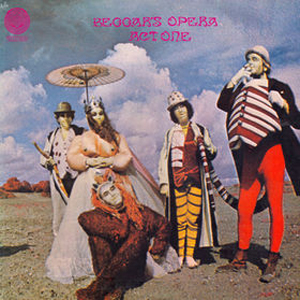 Beggars Opera - Act One: Beggars Opera CD (album) cover