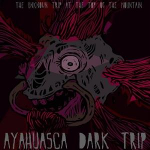 Ayahuasca Dark Trip The Unknown Trip At The Top Of The Mountain album cover
