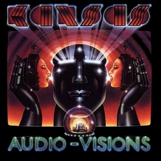 Kansas - Audio-Visions CD (album) cover