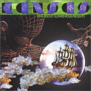 Kansas King Biscuit Flower Hour Presents Kansas (1989) album cover