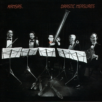 Kansas Drastic Measures  album cover
