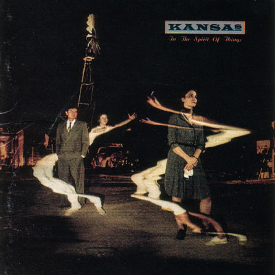 Kansas - In The Spirit Of Things CD (album) cover