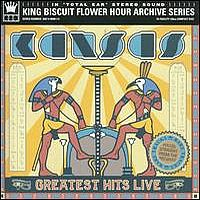 Kansas Greatest Hits Live (Kansas) album cover
