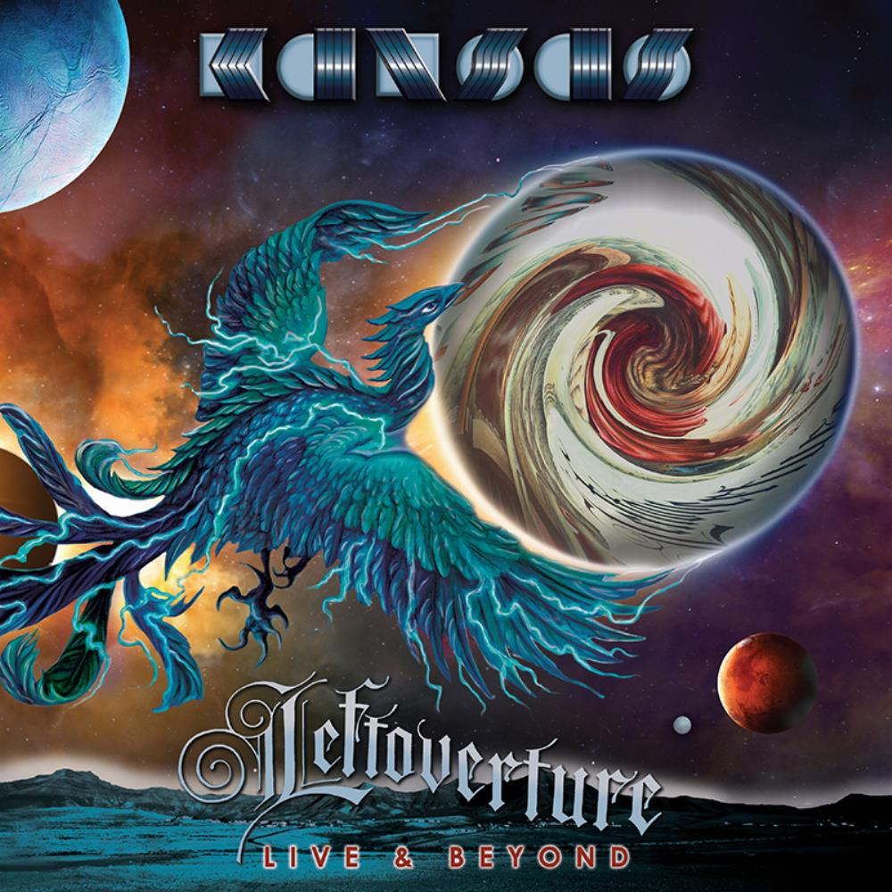 Kansas - Leftoverture Live & Beyond CD (album) cover