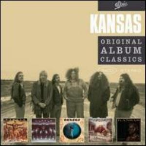 Kansas Original Album Classics album cover